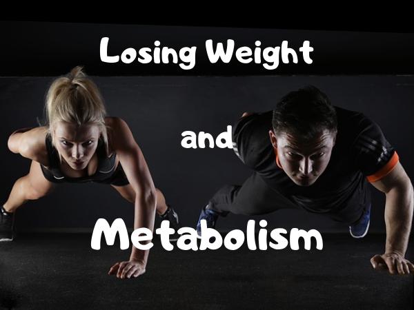 代謝と減量は密接に結びついています。