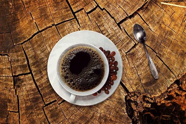 コーヒーなどの飲み物