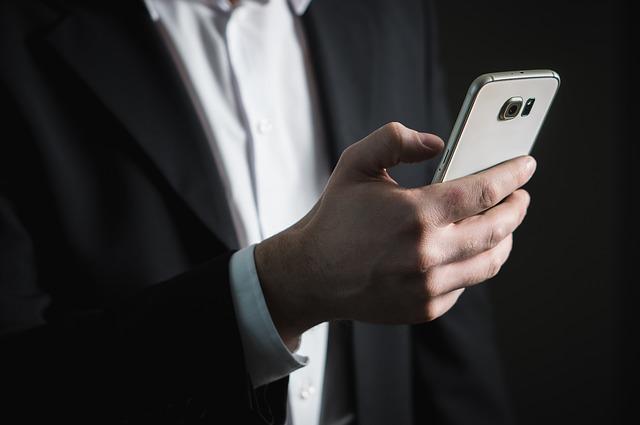 スマートフォンの使用