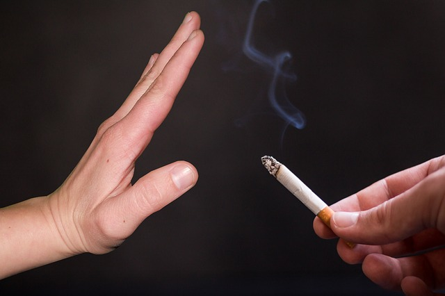 喫煙を断る