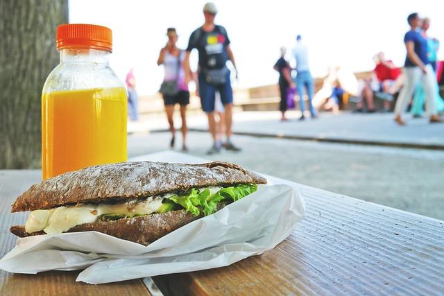 サンドイッチ・便利な食べ物