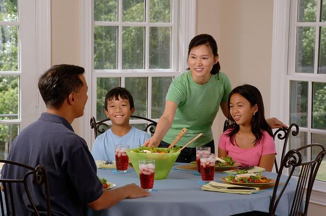 家族・食事